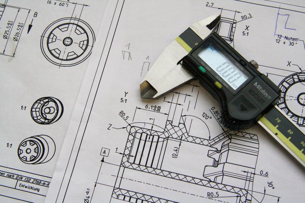 CAD-3D-drawings-Vernier-measurements-precision-engineering